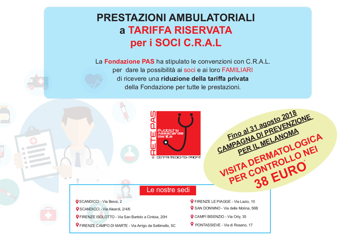 Ambulatori rete PAS